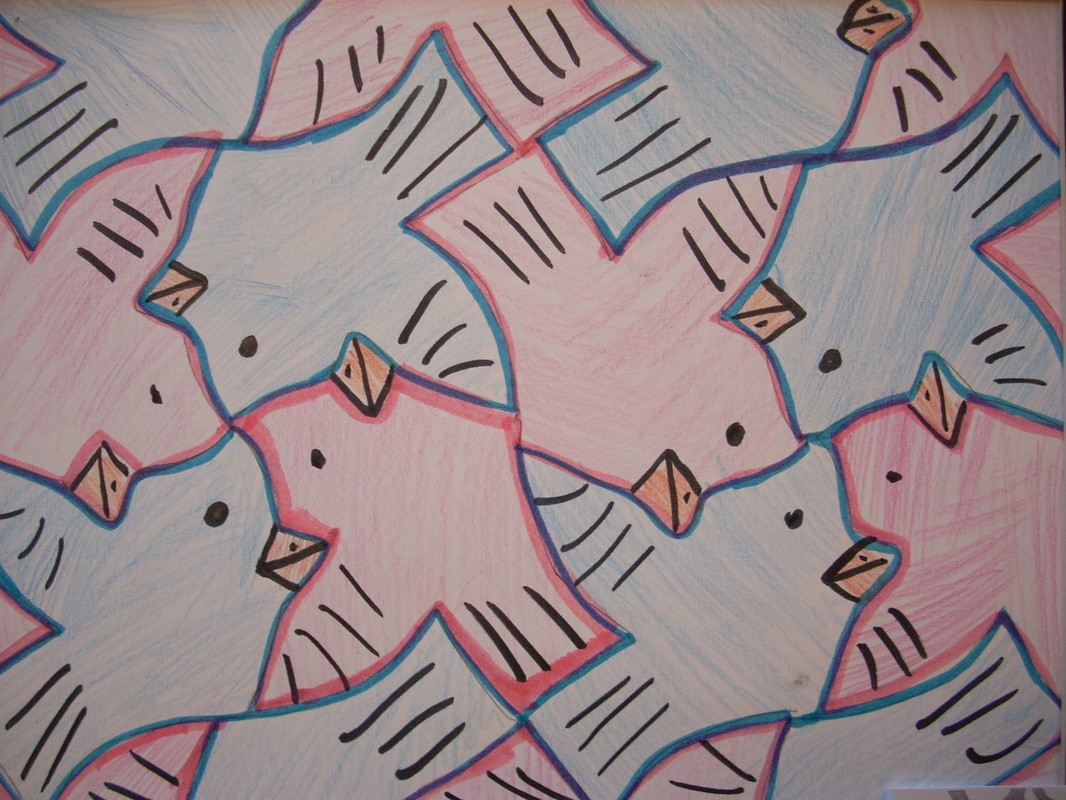 Art Lesson Plans Tessellation 7th grade